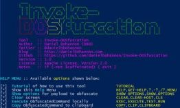 Invoke-DOSfuscation v1.0